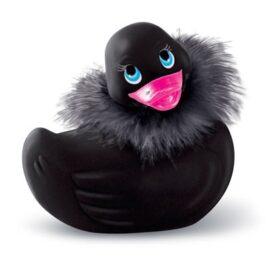 afbeelding i rub my duckie - paris zwart travel size vibrator
