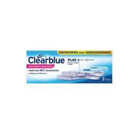 afbeelding Clearblue zwangerschapstest plus (2 stuks)