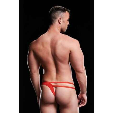 afbeelding Envy Low-Rise Thong Cut-Out jockstrap (Rood)