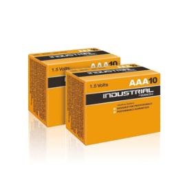 afbeelding Duracell Industrial AAA Batterij 20st