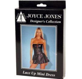 afbeelding lace up mini dress