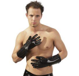 afbeelding latex handschoenen