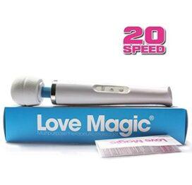 afbeelding love magic wand vibrator 230v - 20 speed