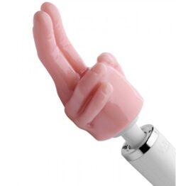 afbeelding magic wand pleasure pointer two finger opzetstuk