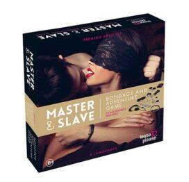 afbeelding Master & Slave BDSM Kit tijgerprint
