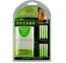 afbeelding batterij oplader - memorex rx 3206