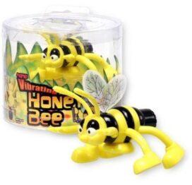 afbeelding vibrerende honing bij vibrator