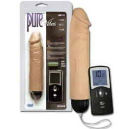 afbeelding draadloze vibrerende dildo met afstandsbediening