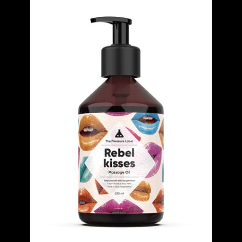 afbeelding Rebel Kisses massage olie