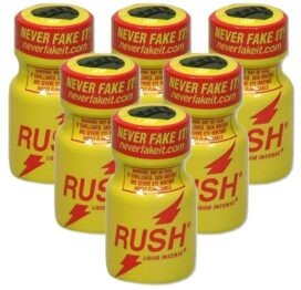 afbeelding rush popper - 100% origineel never fake it 6st.