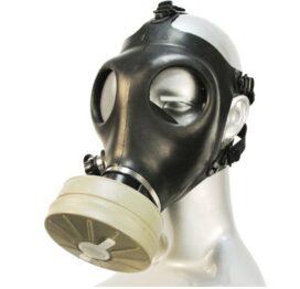 afbeelding russisch gasmasker met filter