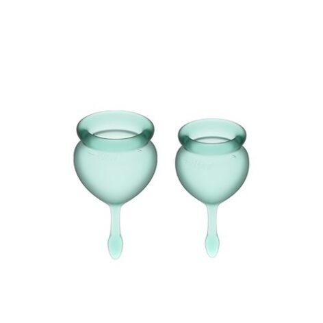 afbeelding Satisfyer Feel Good Menstruatie Cup set 15 & 20 ML