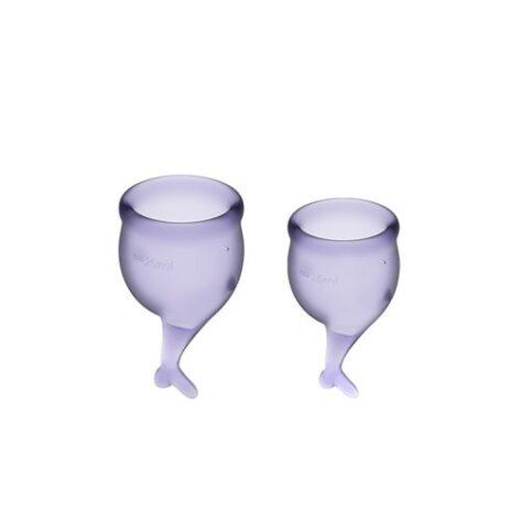 afbeelding Satisfyer Feel Secure Menstruatie Cup set 15 & 20 ML