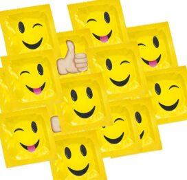 afbeelding Pasante Smiley Condooms 12st