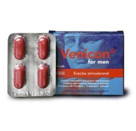 afbeelding venicon for man erectie stimulerend 4st.