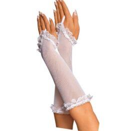 afbeelding visnet lingerie handschoenen
